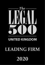 The Lgeal 500 UK - Leading Firm 2020