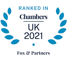 Fox & Partners - Ranked in Chambers UK 2021